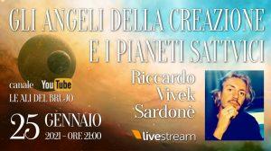 Gli angeli della creazione e i pianeti Sattvici, quasi 2 ore di video gratuito.